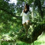 Steph in tree