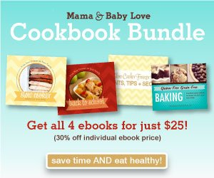 Mama and Baby Love Cookbook Bundle