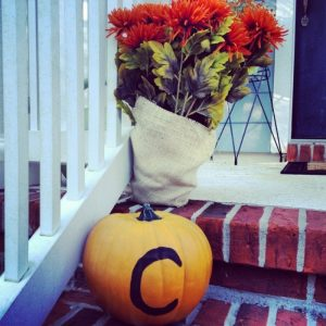 monogram pumpkin 413