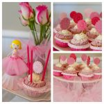 ballerina cupcake collage