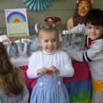 rainbow candy table 1