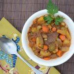 Leek Beef Stew 820