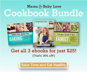 Mama and Baby Love Cookbook Bundle Deal