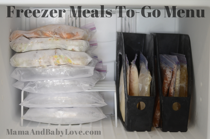 bulk cooking freezer meals to go