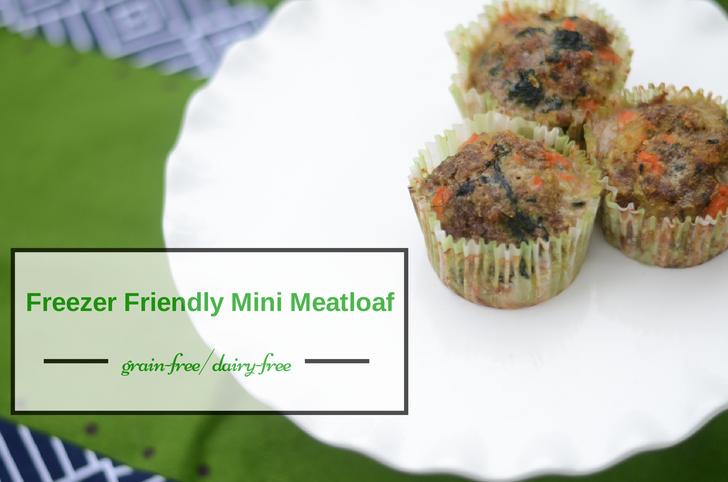 grain free dairy free freezer mini meatloaf recipe